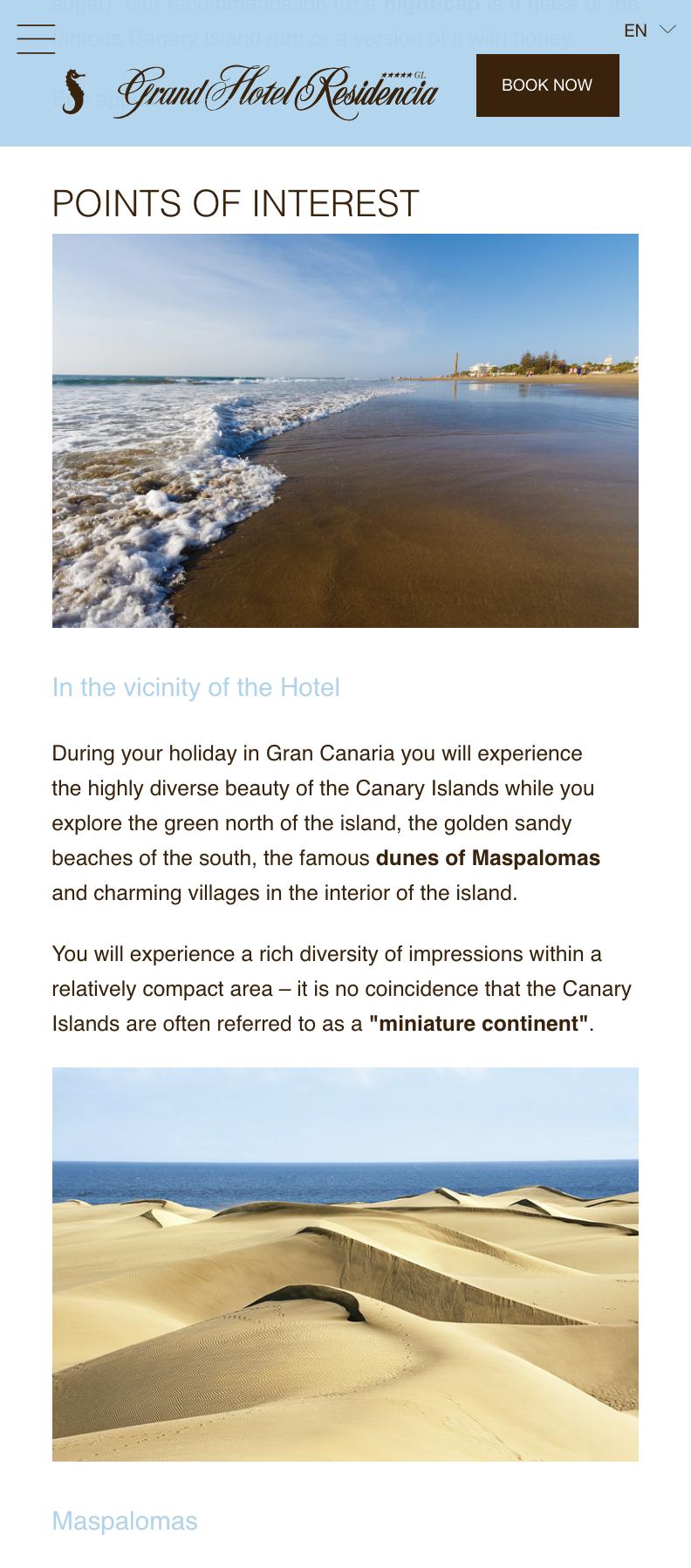 Versión Móvil: Seaside Grand Hotel Residencia