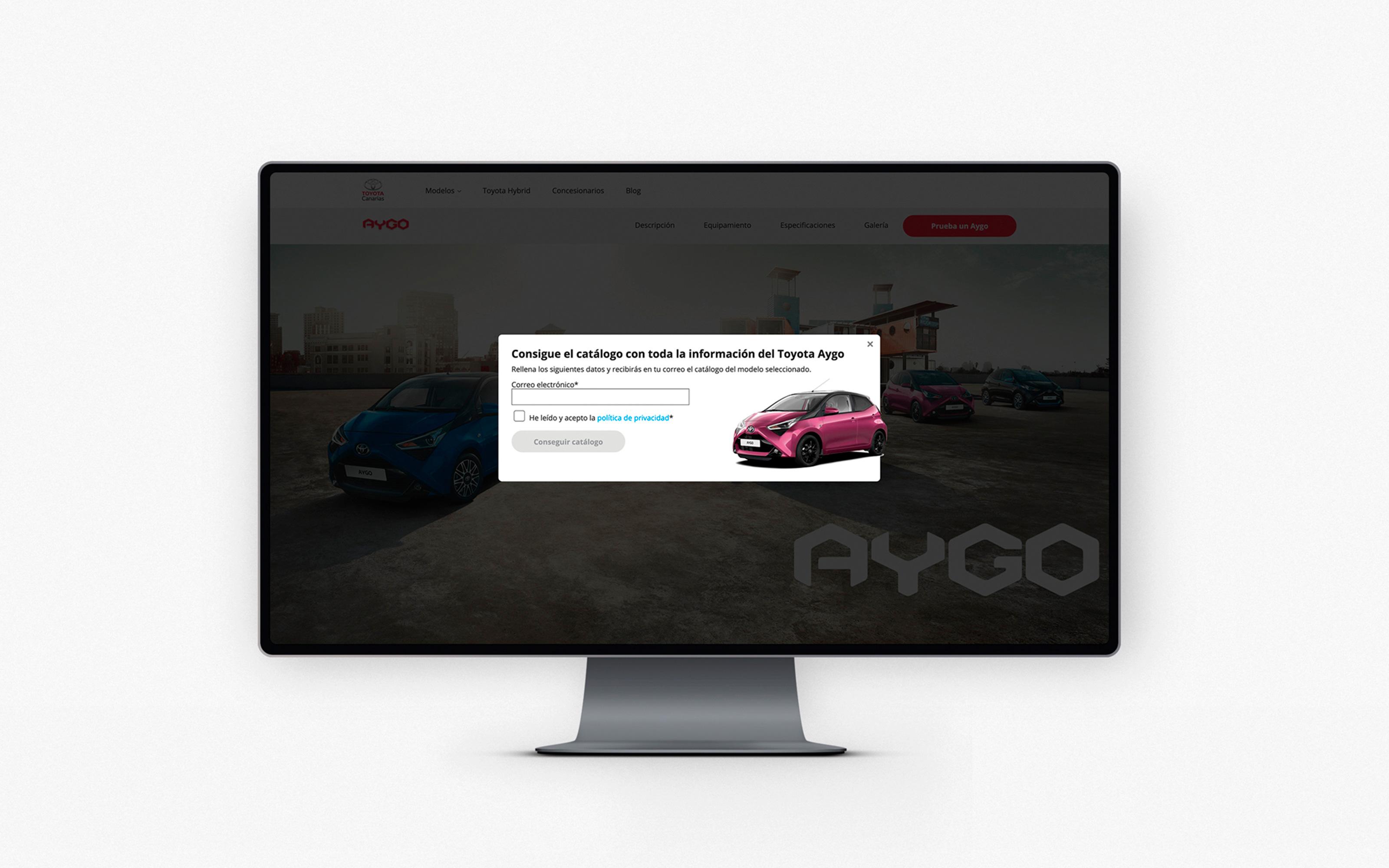Web Toyota Canarias